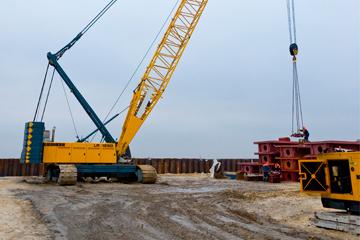 Строительство автомобильной дороги М-4 «Дон» г.Аксай