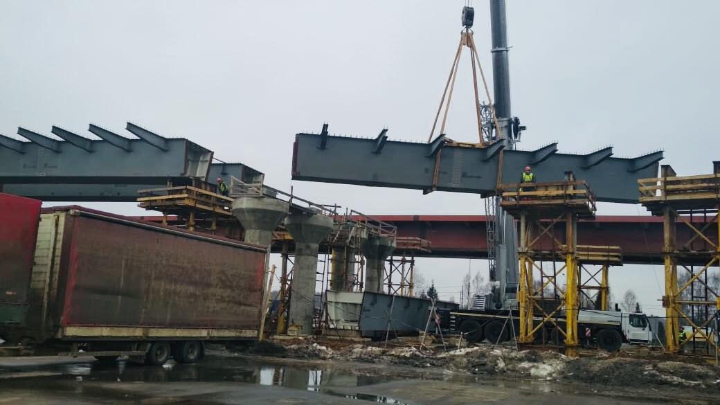 Строительство ЦКАД Московской области